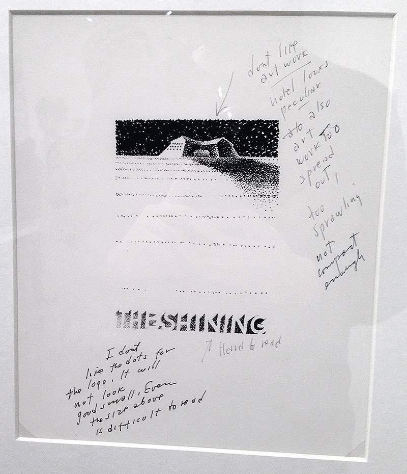 The Shining Sample Poster - Saul Bass